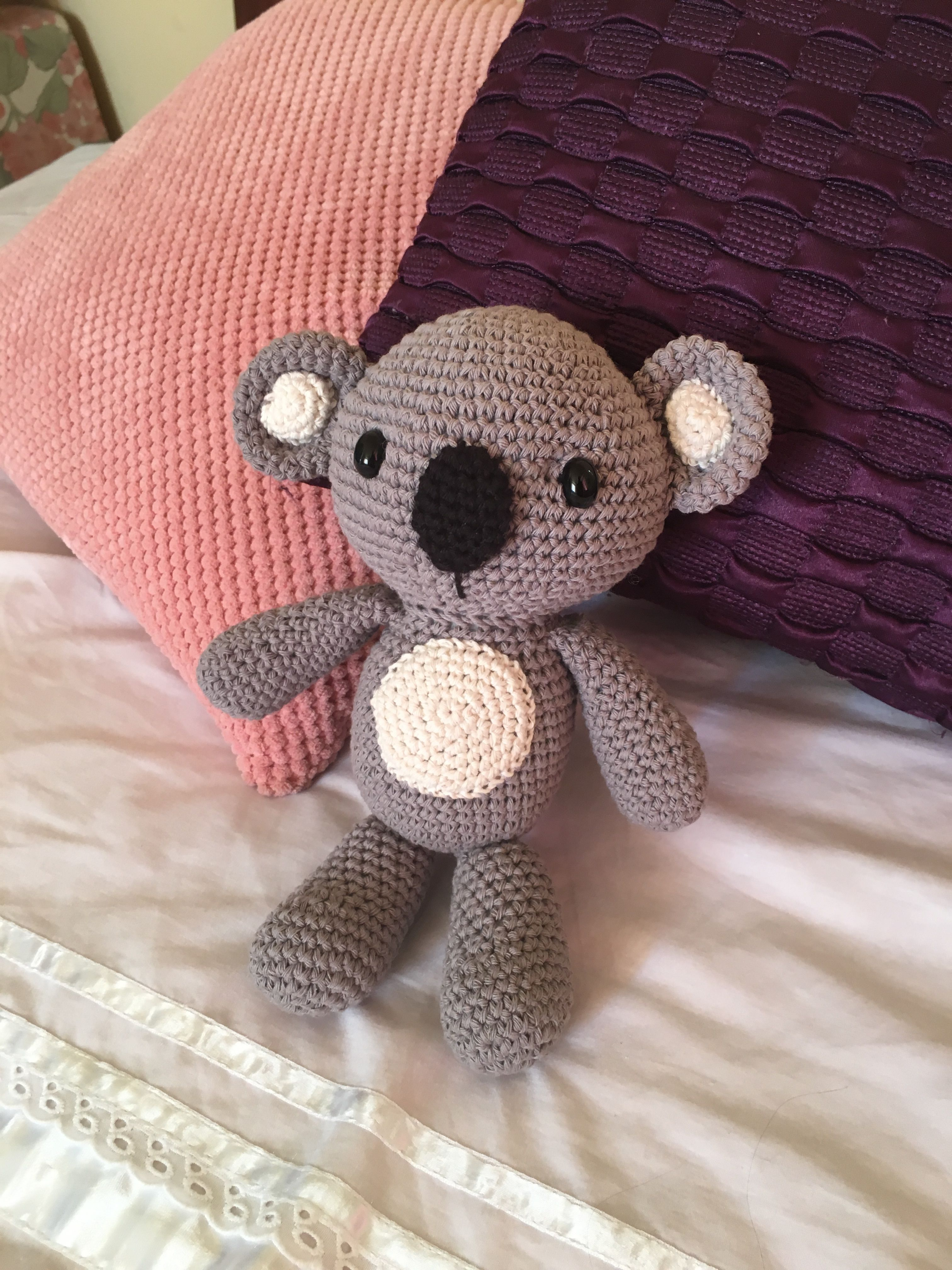 Oso koala crochet pattern amigurumi
