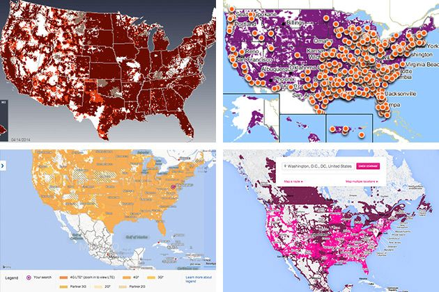 The Best Cell Phone Plans Wireless Carriers Cell Phone Plans - Us cellular coverage map vs verizon