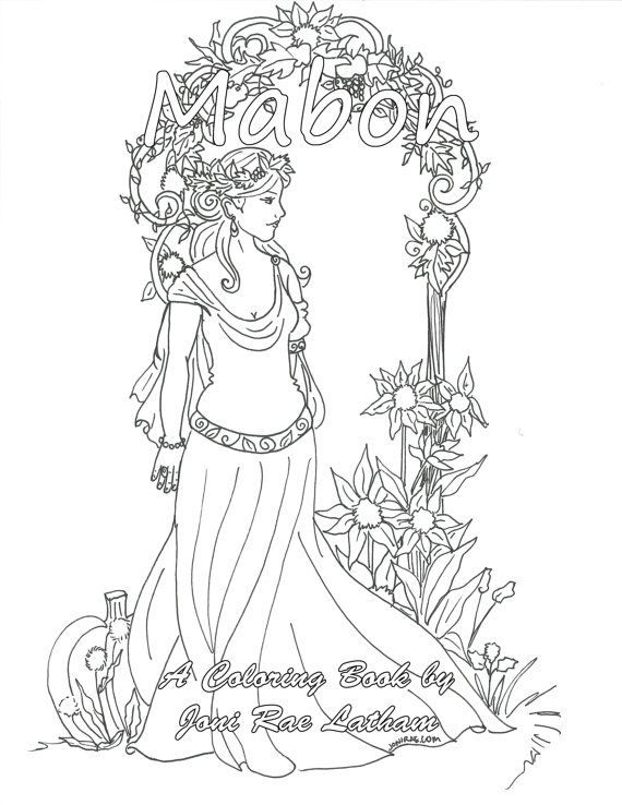 Mabon Colouring Book Coloring Books Animal Coloring Pages Coloring Pages