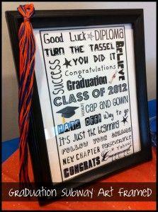 Cheap Graduation Gifts easy cheap graduation gift i like the tassle | 2014 grad