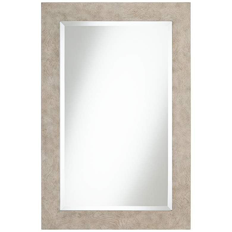 Chapman 24 X 36 Ash Grey Wood Rectangular Wall Mirror 78p05 Lamps Plus In 2021 Mirror Wall Grey Wood Mirror 24 x 36 framed mirrors