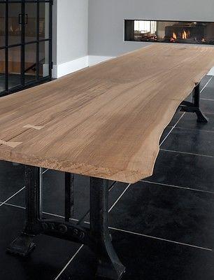 Alt Holz Eiche Braun Bohlen Stamm Tisch Treppe Balken Bretter GUNSTIG NRW !