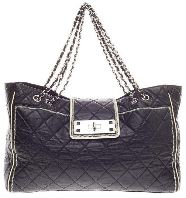 62b79064cd2 Chanel | Purses: Satchel | Black leather handbags, Chanel handbags ...