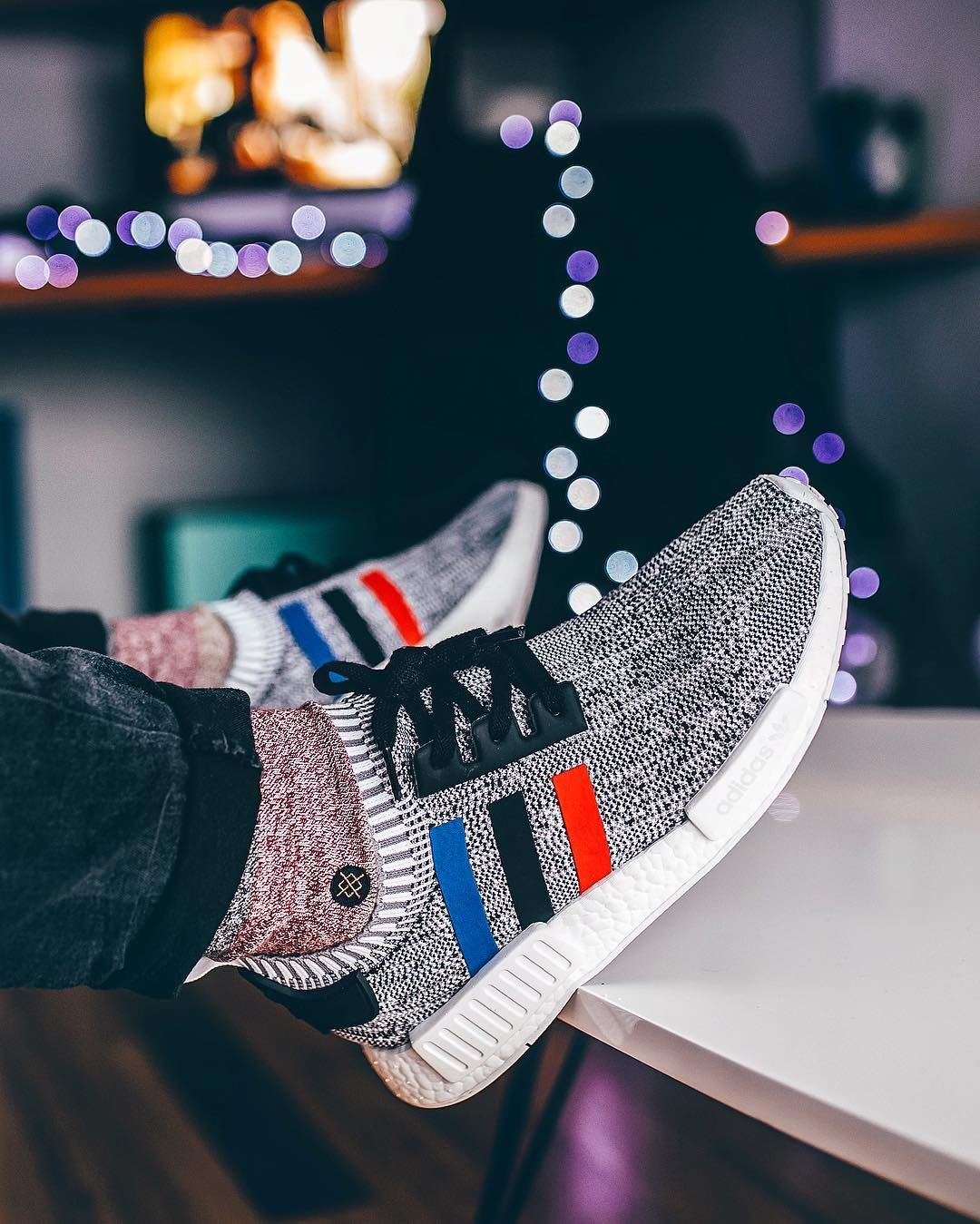 Adidas Nmd Runner Pk Tri Color Adidas Nmd Runner Adidas Shoes