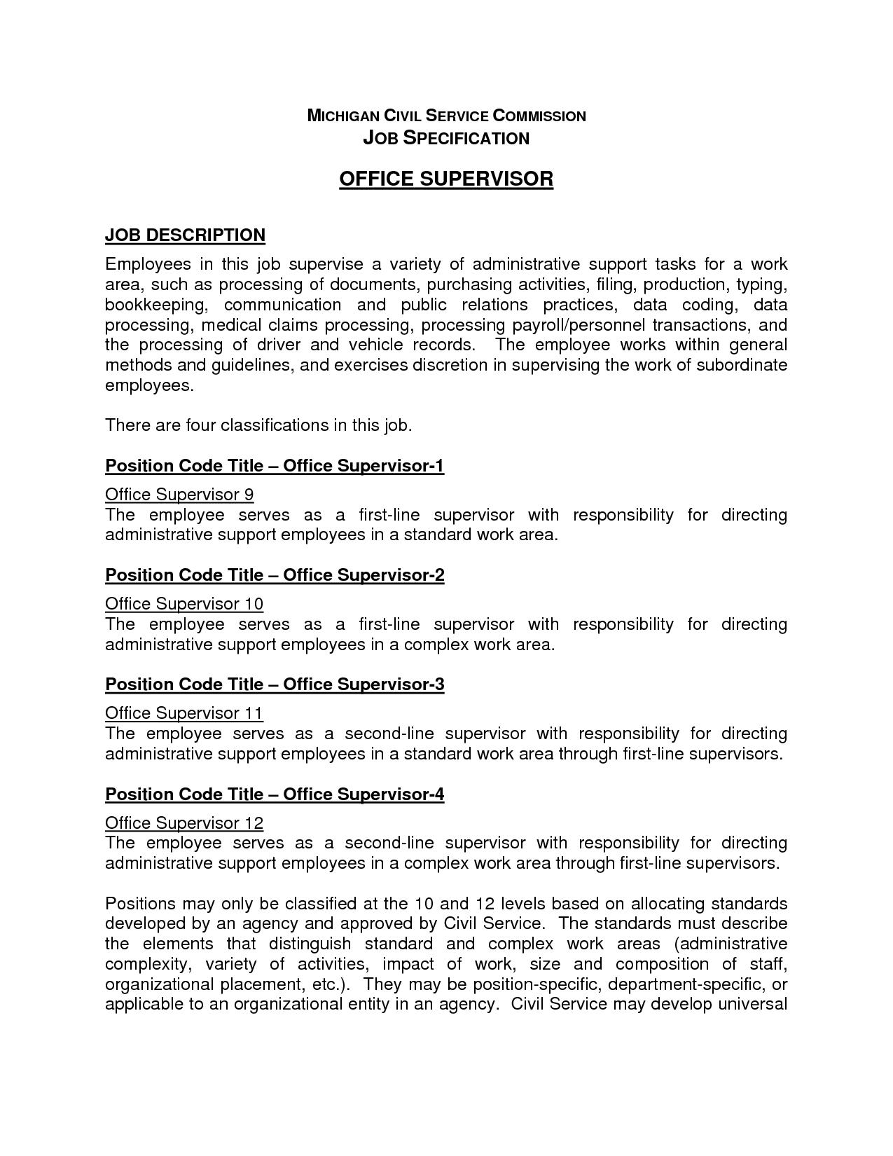 Office Administrator Job Description Check more at https