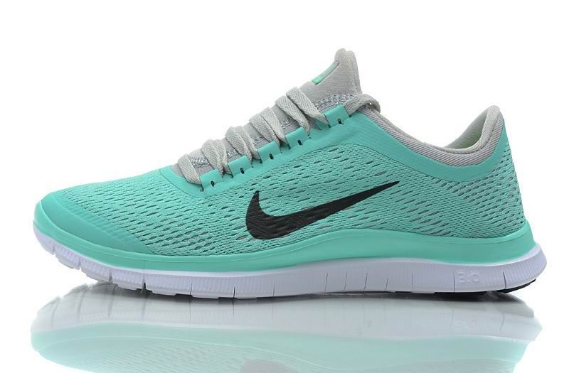 Billig Nike Free 3.0 V5 Damen Mint Grün Laufschuhe | Nike