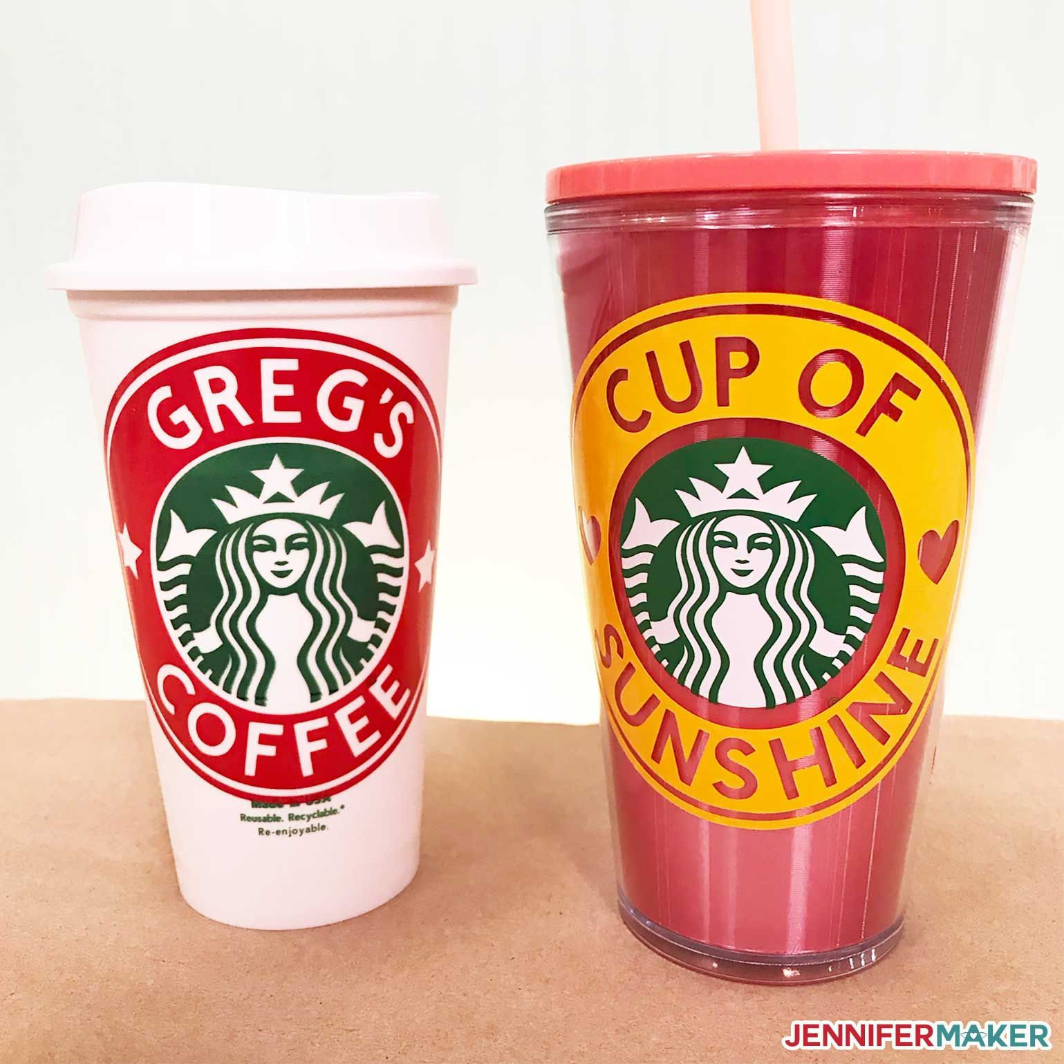 DIY Customized Starbucks Cups Personalize With a Name