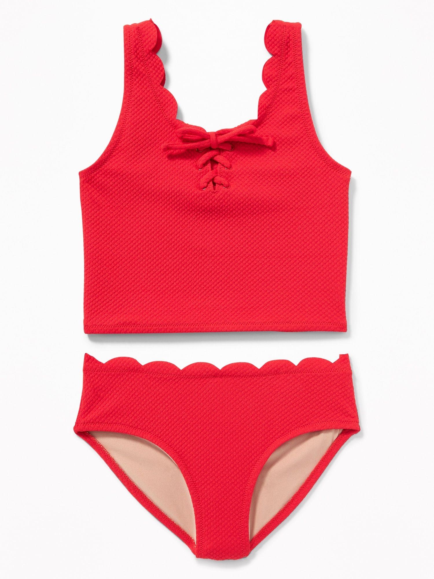a83ac17976f4e product Swim Sets, Kids Swimming, Jacquard Fabric, Swim Bottoms, Tankini Top ,