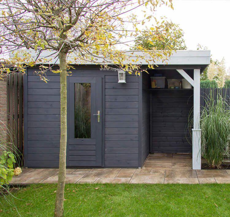 Gartenhaus Lena GS44o – Maßarbeit möglich – Lugarde   – Haus