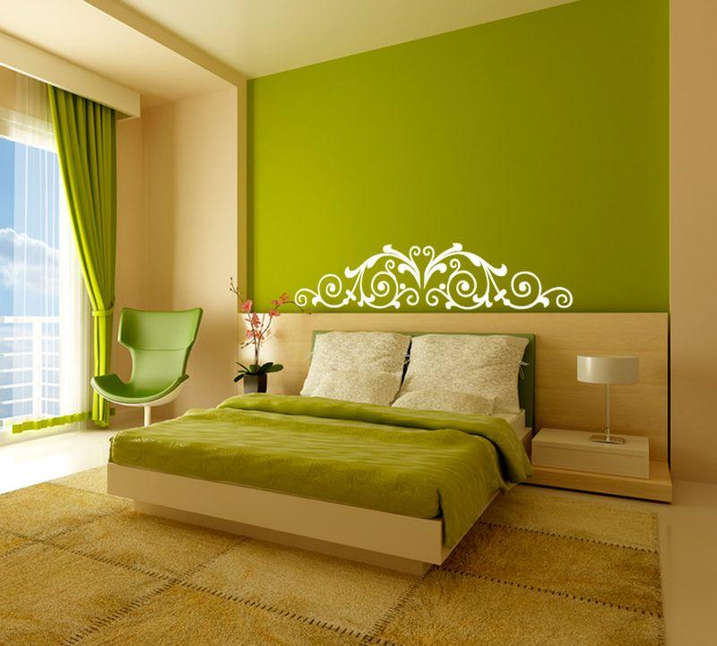 Le vert dans une chambre pour un couple attention l 39 nergie du bois vert qui est tr s - Ou mettre son lit dans une chambre ...