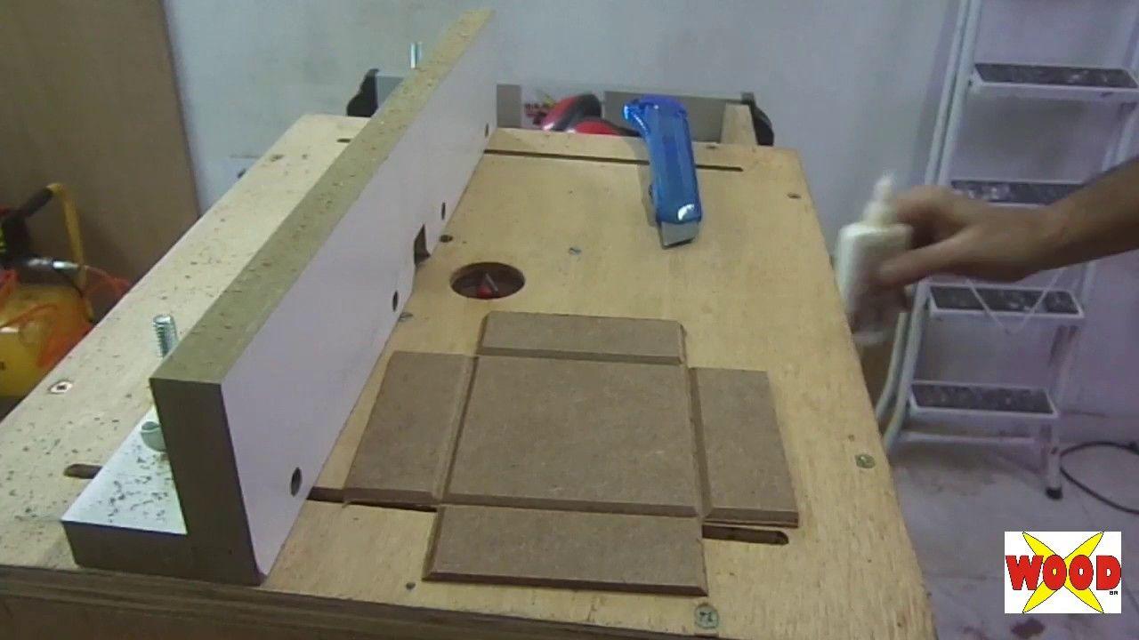 X-WOOD - CAIXINHA DE MDF NA TUPIA - MDF box with shaper.