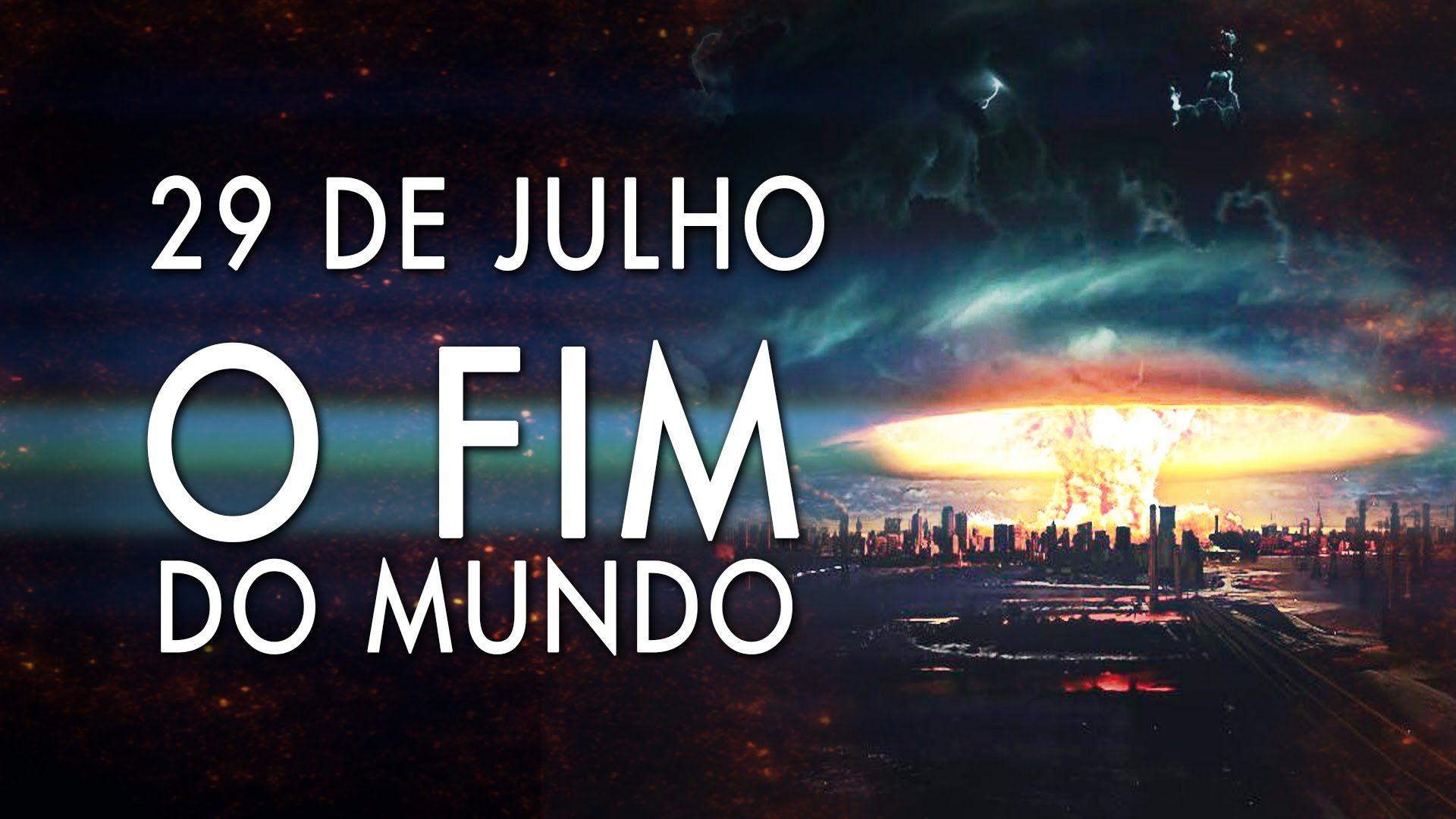 FIM DO MUNDO EM 29 DE JULHO - CIÊNCIA, RELIGIÃO E O JUÍZO FINAL