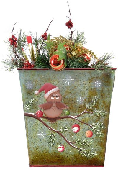The Decorative Painting Store: Santa Whooo? DOWNLOAD, All Pattern Packets/ I am not into Owls but he is cute..sec