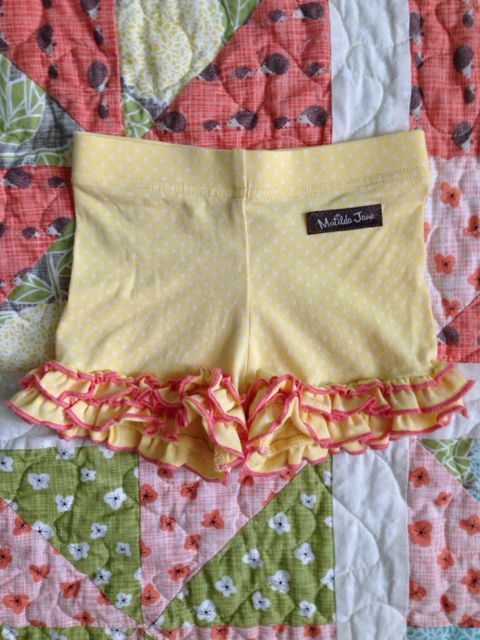 Check out this listing on Kidizen: Matilda jane Cheerful Shorties 12 Months