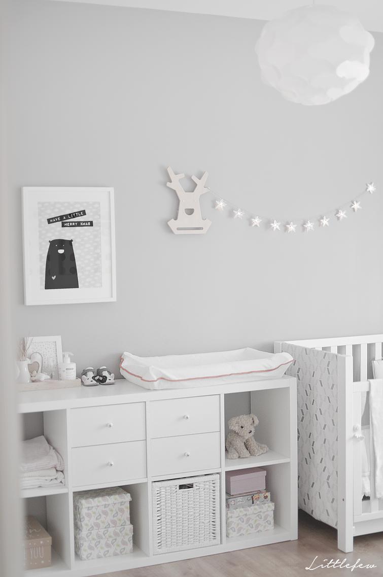 Babyzimmer in Weiß/Grau <3 | Kinderzimmer-Ideen | children room ...