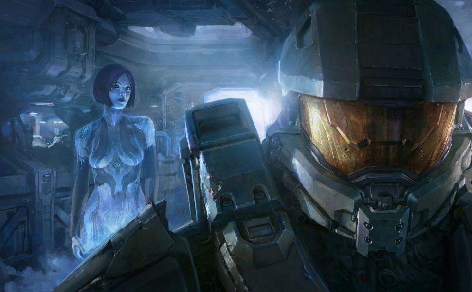 Halo 4 Master Chief And Cortana HD Wallpaper