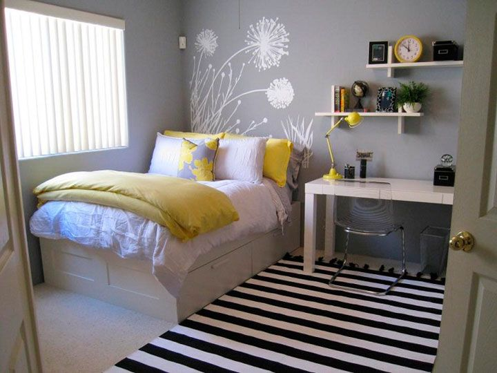 cmo decorar una habitacin juvenil pequea - Como Decorar Una Habitacion