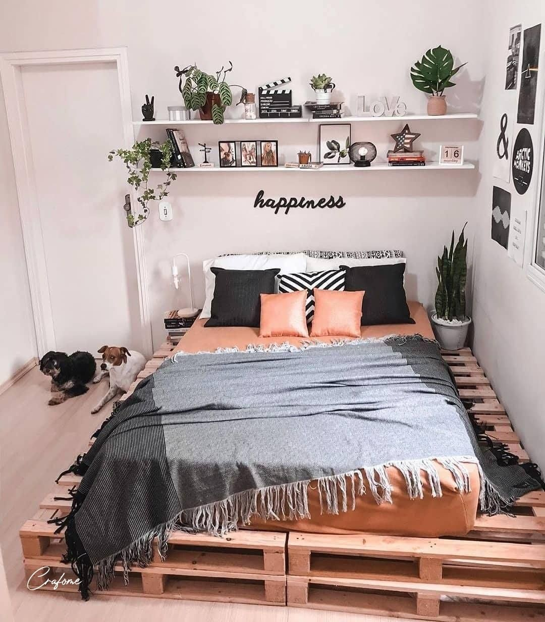 Photo of 50+ Adorable Pallet Bed Ideas You Will Love – Crafome