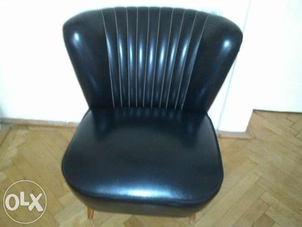 Eladó fekete műbőr fotel Budapest - kép 2  664367606a