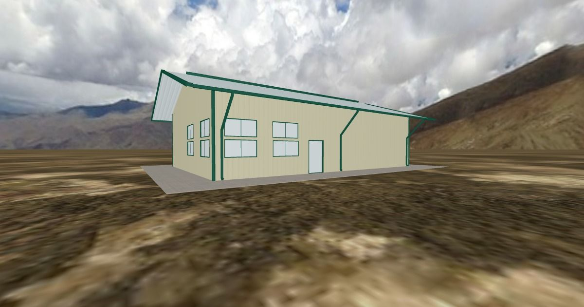 Cool 3D #marketing http://ift.tt/2rYpH5X #barn #workshop #greenhouse #garage #roofing #DIY