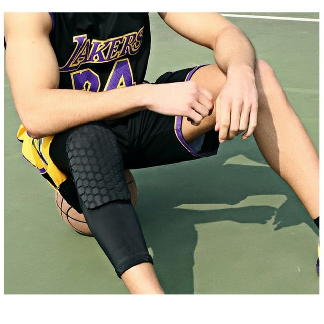 1pc Training Breathable Non Slip Badminton Elbow Pads Protectors High Elastic Tennis Basketball Fitness Sports Office & School Supplies