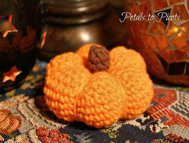 Little Pumpkin Crochet Pattern | Pinterest | Calabazas de halloween ...