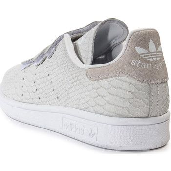 Cestas el modo adidas Originals Stan Smith CF velcro gris de 350x350