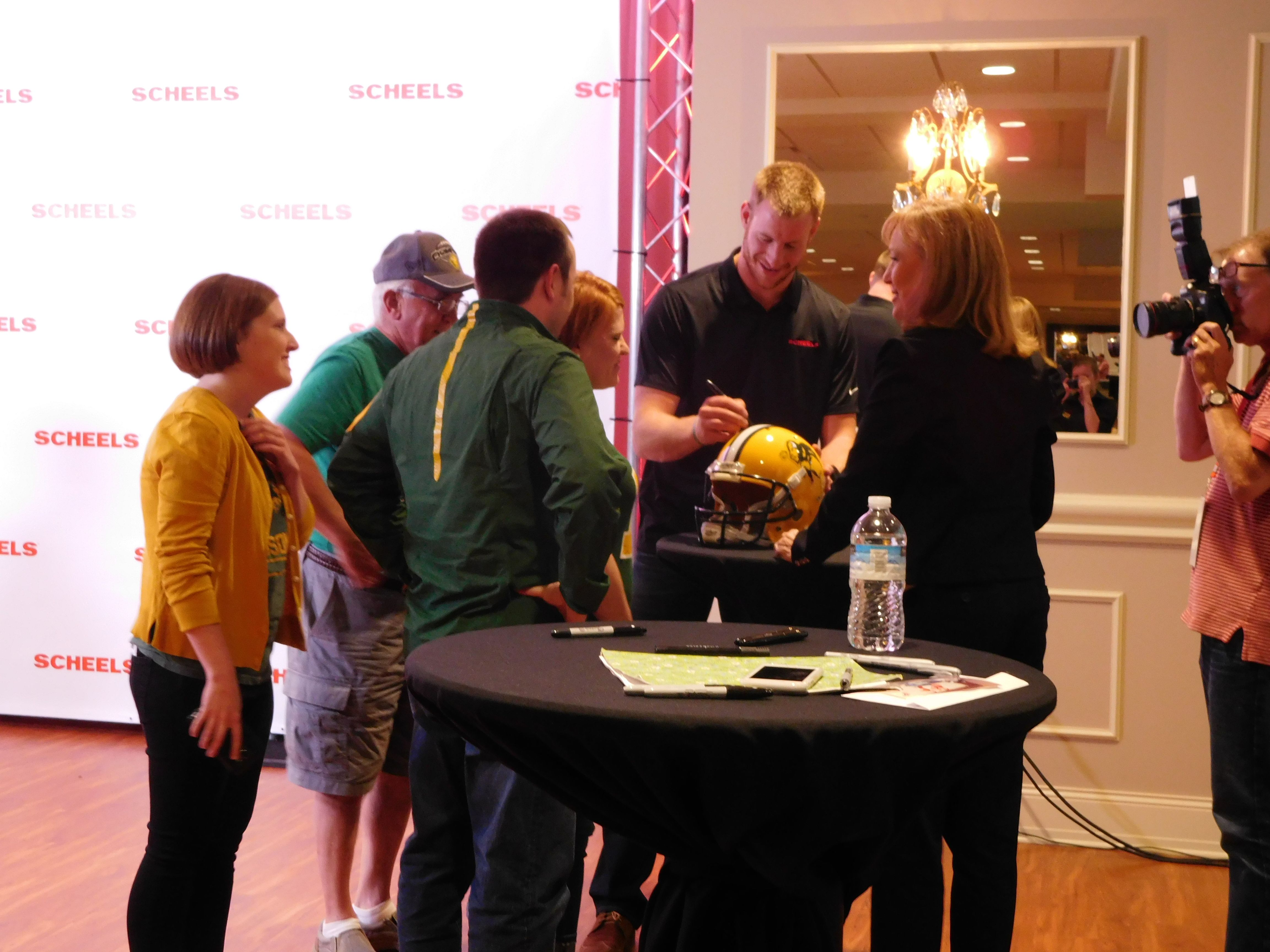 Meet and greets and autograph signing with carson wentz at the discover ideas about carson wentz meet and greets m4hsunfo