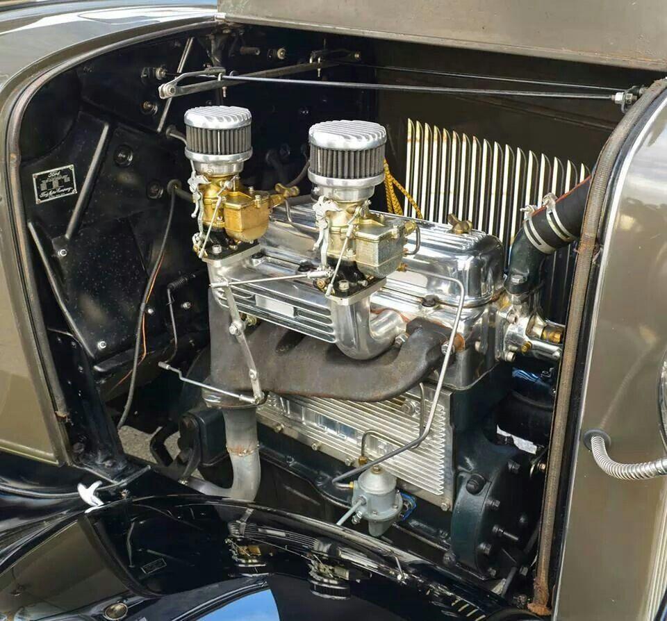 Sweet Ford 4 Banger Sprint Cars Performance Engines Car Engine