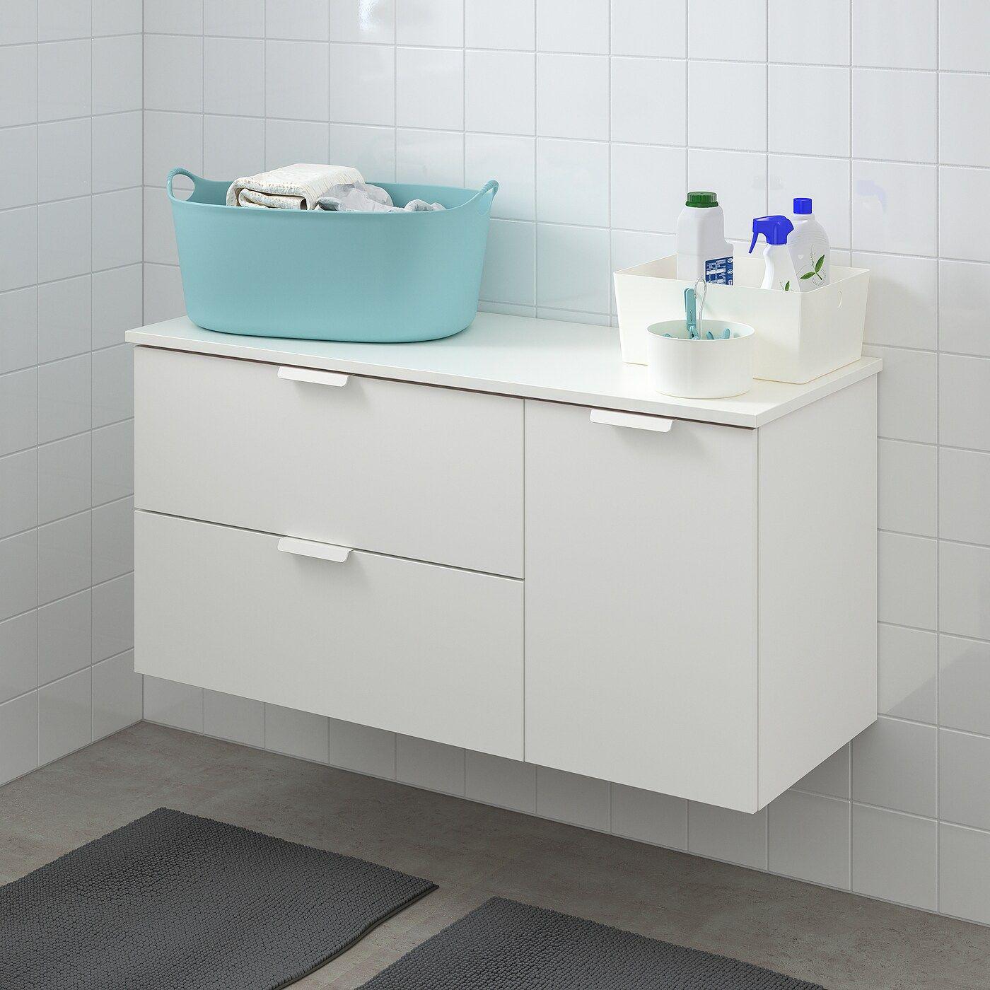 Godmorgon Tolken Waschbeckenschrank 3 Schubl Weiss Weiss In 2020 Waschbeckenschrank Ikea Und Ikea Godmorgon