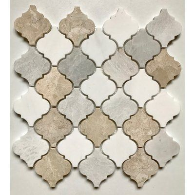 Cordelio Cordelio 12 X 12 Marble Mosaic Wall Floor Tile Kitchen Backsplash Designs Marble Mosaic Tiles Arabesque Tile
