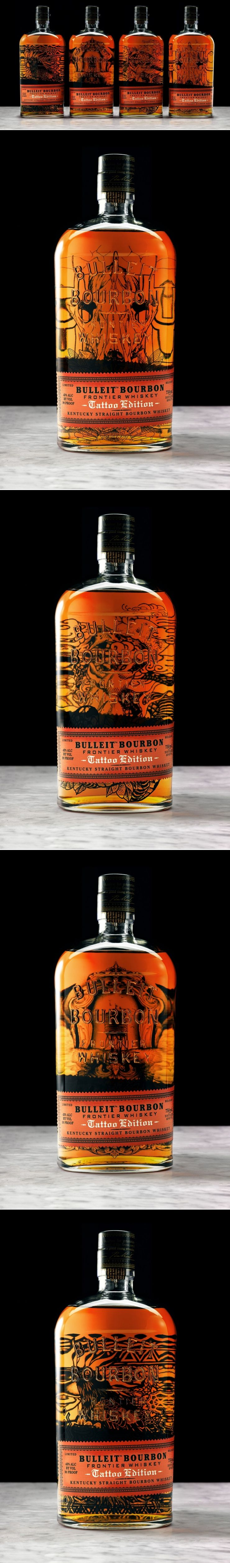 Bulleit Frontier Whiskey Launches Limited Tattoo Edition Product Launch Whiskey Liquor