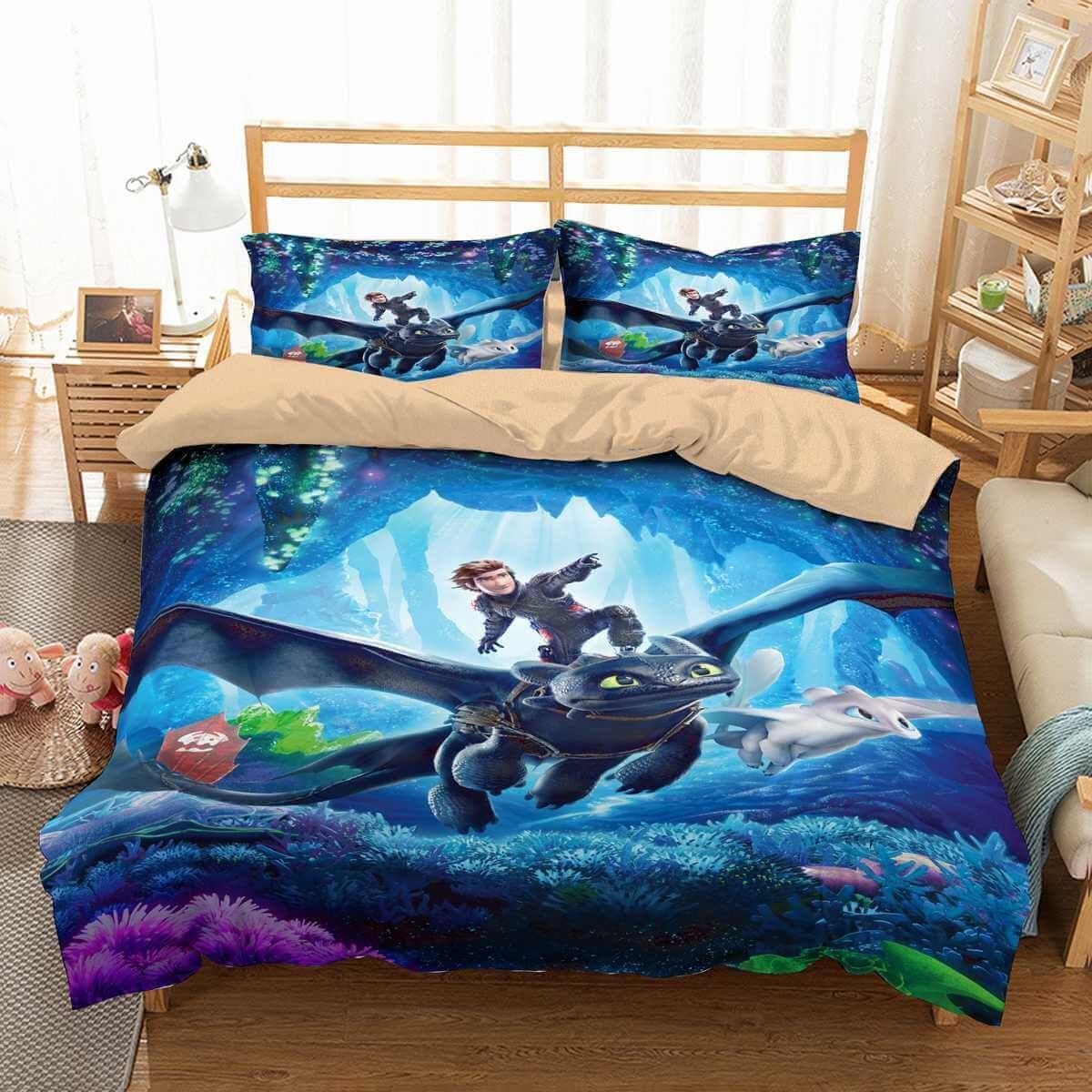 Dragon Bedding Set Duvet Cover