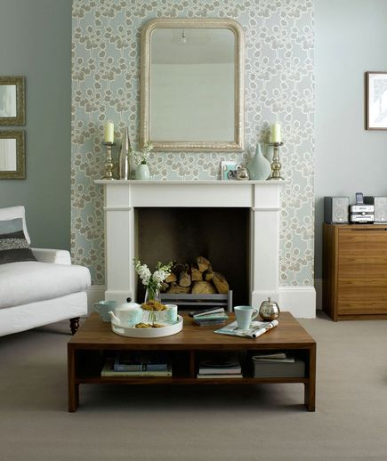 24 Fabulous Wallpaper Designs | Background colour, Real simple and ...