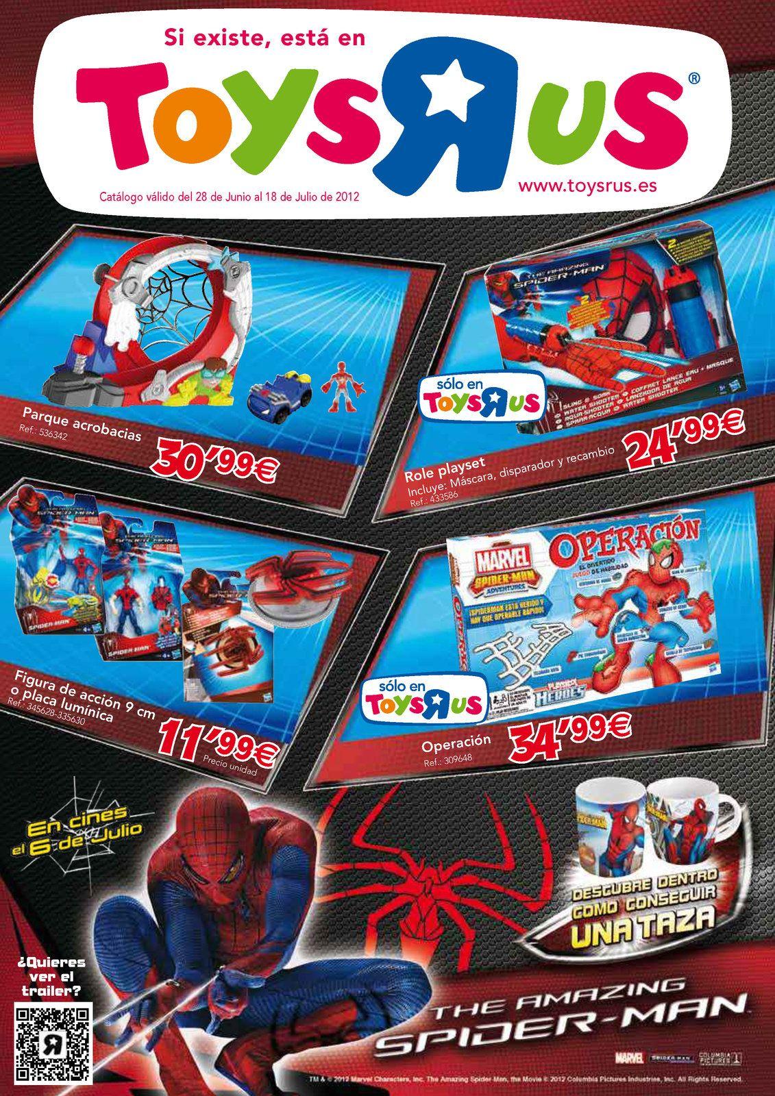 ToysRus juguetes de Spiderman  http://www.ofertia.com/tiendas/toys-r-us