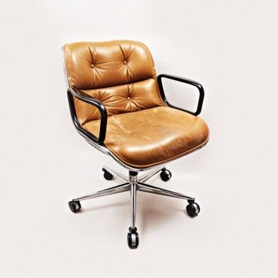 Pollock Executive Chair Replica Cover Rentals Albany Ny Office By Charles For Knoll International