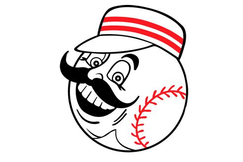 Image result for cincinnati reds logo face ugly