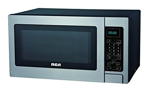 Rca 0 7 Cubic Foot Microwave Stainless Steel Rca 11 Inches Deep Stainless Steel Microwave Countertop Microwave Microwave