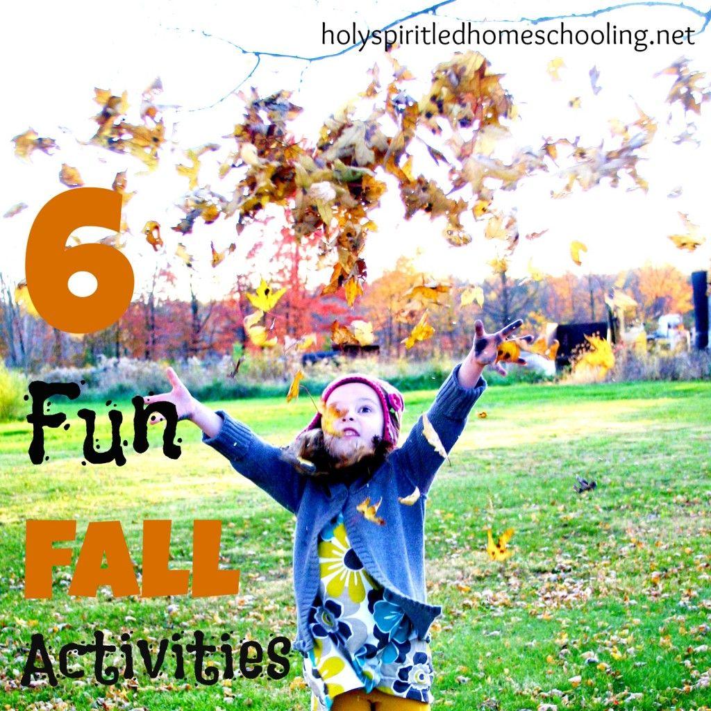 Six Fun Fall Activities