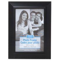 Bulk Contemporary Beveled Edge Black Plastic Photo Frames 3 X5 At Dollartree Com Frame Family Tree Frame Photo Frames