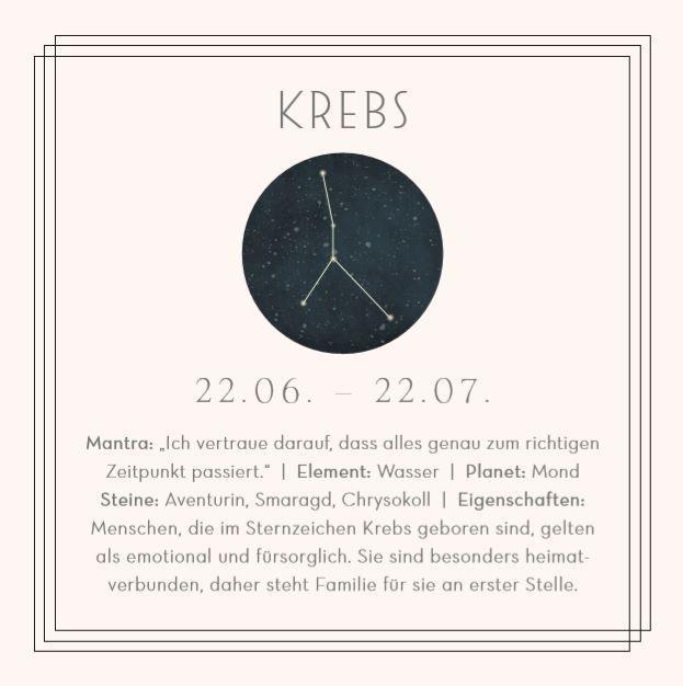 Sternzeichen July