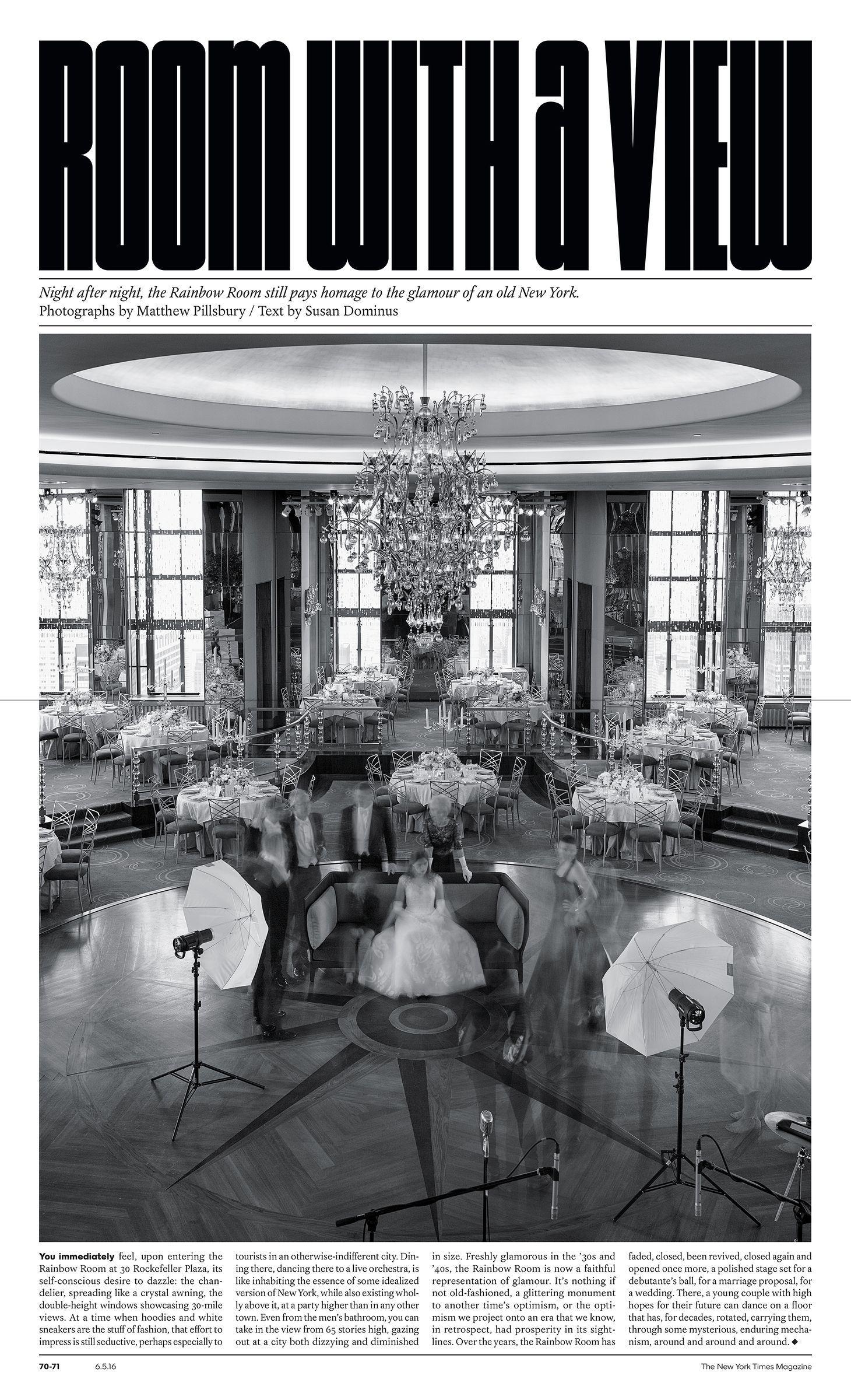 The New York Times Magazine / High Life | Skyline Themed ...