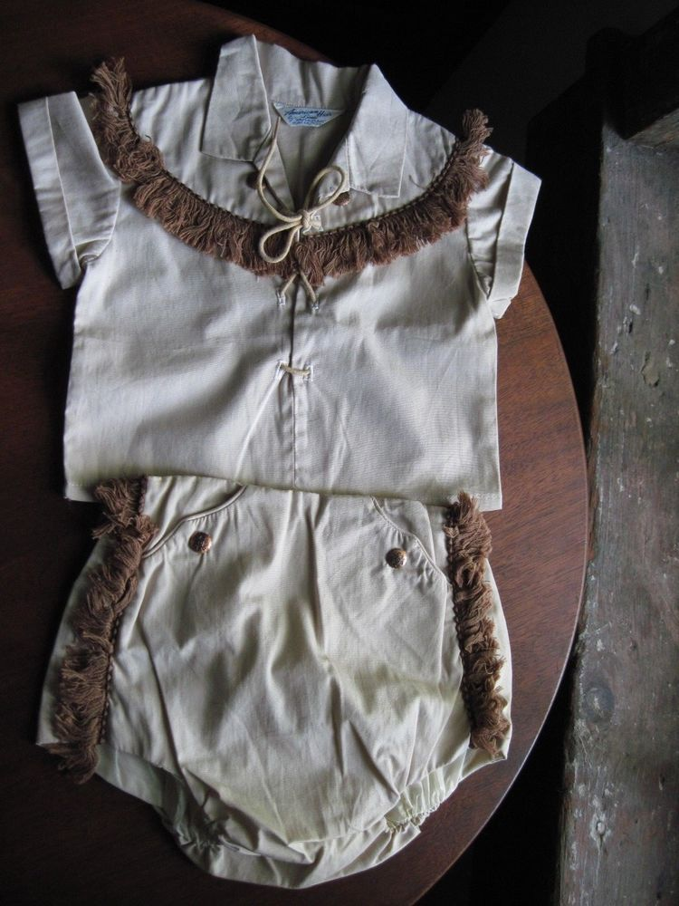 Vintage Baby Western Outfit, 1960s American Heir Line