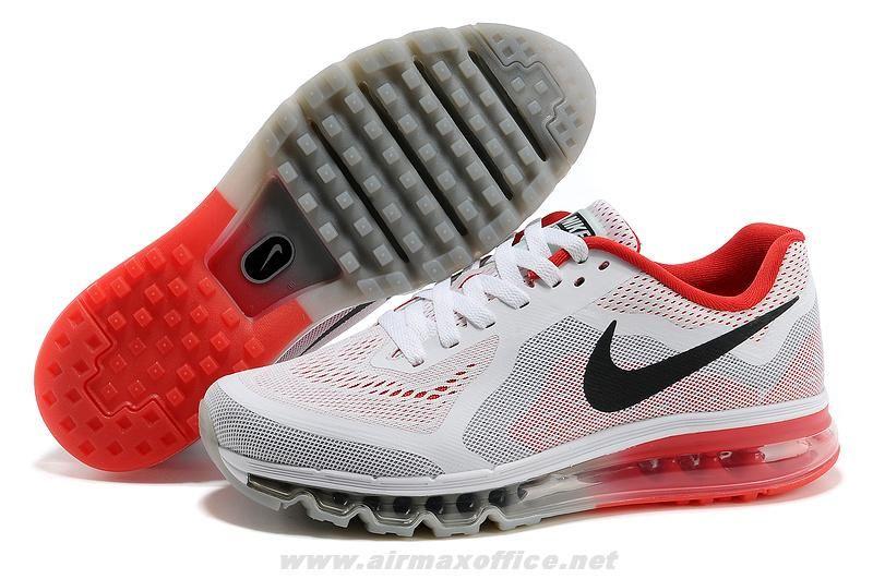 2f33030f5d11 621078-501 White Red Black Mens Shoes Nike Air Max 2014