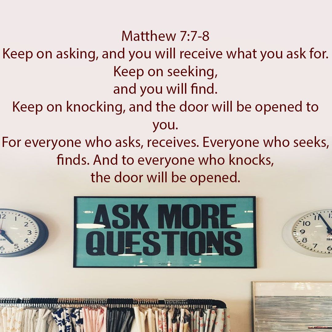 Jesus showed me he was safe to keep asking! http://www.survivorsguilt.net/daily-bible-verse/55-matthew-7-7-8-may-11-2017