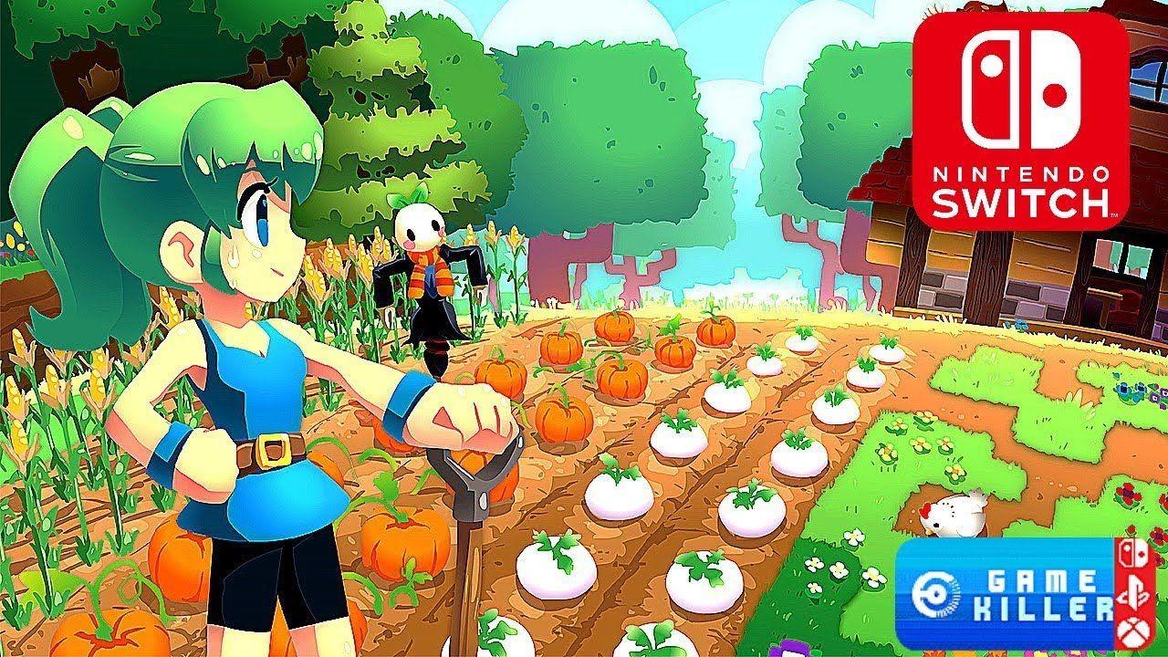 TOP 12 Awsome NINTENDO SWITCH Farming & Craft RPG