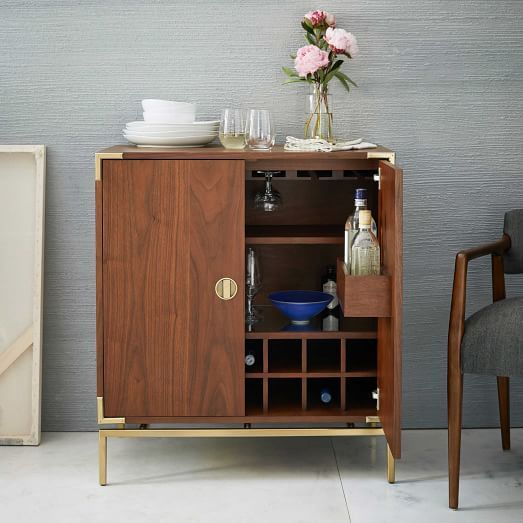 Rosanna Ceravolo Bar Cabinet #westelm- This could be a really cool ...