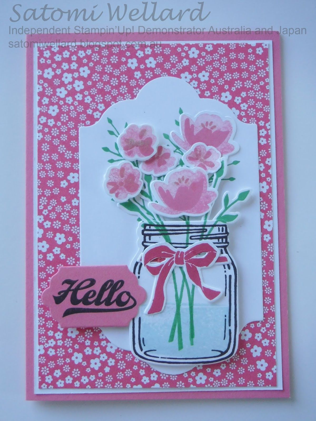 Satomi Wellard Independent Stampinup Demonstrator Australia And