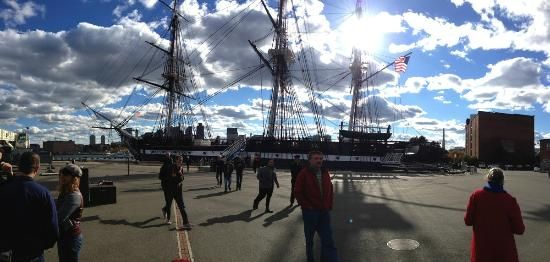 """The USS Constitution (""""Old Ironsides"""")"""