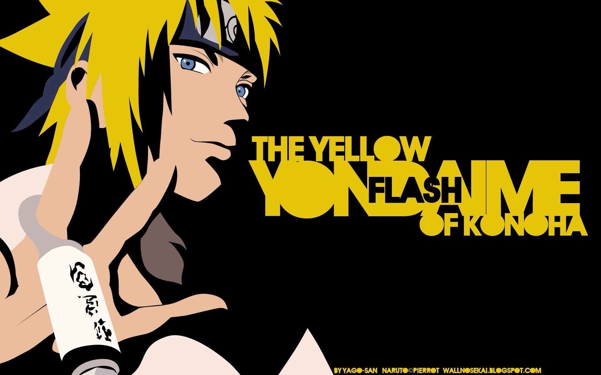 Namikaze Minato Yondaime/The Yellow Flash Wallpaper